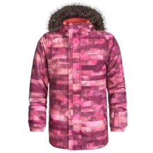O'Neill Radiant Ski Jacket - Waterproof, Insulated (For Little and Big Girls) in Red Aop - Closeouts