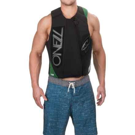 O'Neill Revenge Comp Vest (For Men) in Black/Combat/Lunar - Closeouts