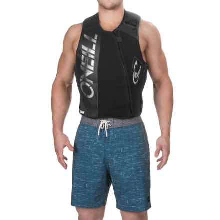 O'Neill Revenge Comp Vest (For Men) in Black/Smoke/Black - Closeouts