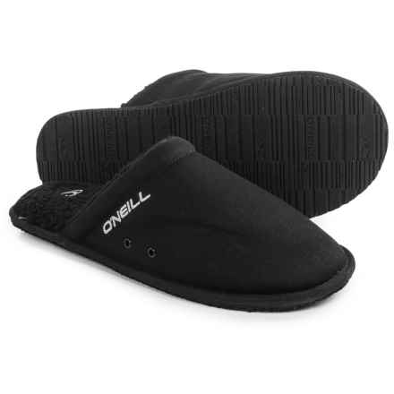 O'Neill Rico Slippers (For Men) in Black - Closeouts