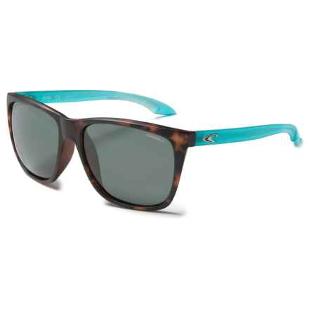 O'Neill Runa Sunglasses - Polarized in Matte Tortousie/Mint/Solid Green - Closeouts