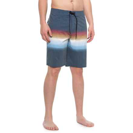 O'Neill Sand Capitol Boardshorts - Dark Navy (For Men) in Dark Navy - Closeouts
