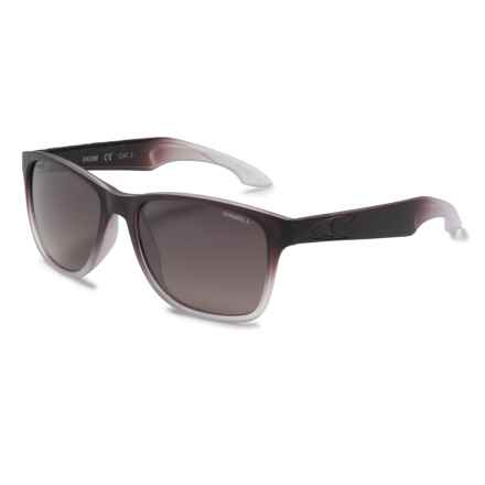 O'Neill Shore Sunglasses - Polarized in Matte Brown/Blue/Brown Gradiant - Closeouts