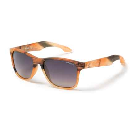 O'Neill Shore Sunglasses - Polarized in Matte Sunset/Brown Gradient - Closeouts