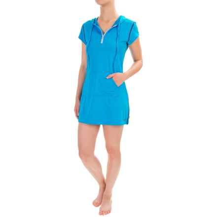O'Neill Skins Cover-Up - UPF 50+, Short Sleeve (For Women) in Sky/Cobalt - Closeouts
