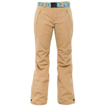O'Neill Star Snowboard Pants - Waterproof (For Women) in Havana Beige - Closeouts