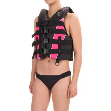O'Neill Superlite Type III PFD Life Jacket (For Women) in Black/Petal/White - Closeouts