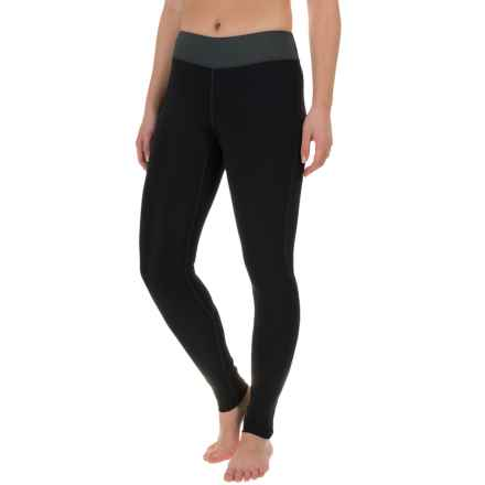 O'Neill Supertech Leggings - UPF 50+ (For Women) in Black/Graphite/Black:Sky - Closeouts