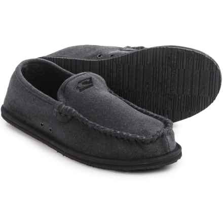 O'Neill Surf Turkey Low Slippers - Canvas, Tweed (For Men) in Grey - Closeouts