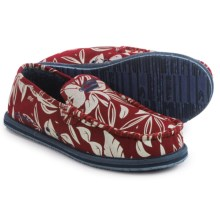 O'Neill Surf Turkey Low Slippers - Canvas, Tweed (For Men) in Red - Closeouts