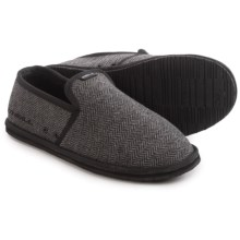 O'Neill Surf Turkey Low Slippers - Sherpa Lined (For Men) in Dark Charcoal - Closeouts
