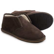 O'Neill Surf Turkey Slippers (For Men) in Dark Brown - Closeouts