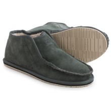 O'Neill Surf Turkey Suede Slippers (For Men) in Grey - Closeouts