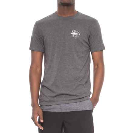 O'Neill Tuna Roll T-Shirt - Short Sleeve (For Men) in Vintage Black - Closeouts