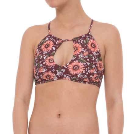 O'Neill Viera Bikini Top - Removable Cups (For Women) in Mocha - Closeouts