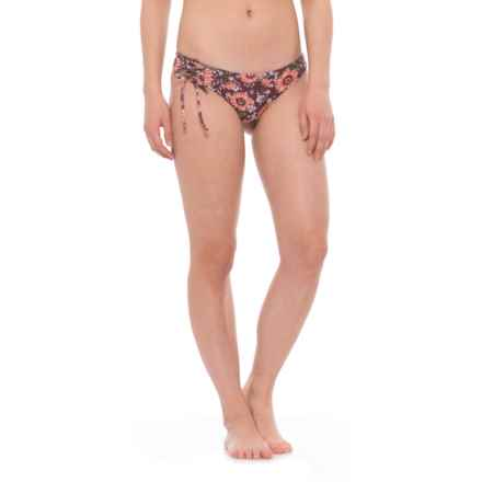 O'Neill Viera Surf Lace-Up Bikini Bottoms - Hipster (For Women) in Mocha - Closeouts