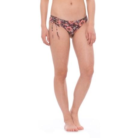 O'Neill Viera Surf Lace-Up Bikini Bottoms - Hipster (For Women) in Mocha