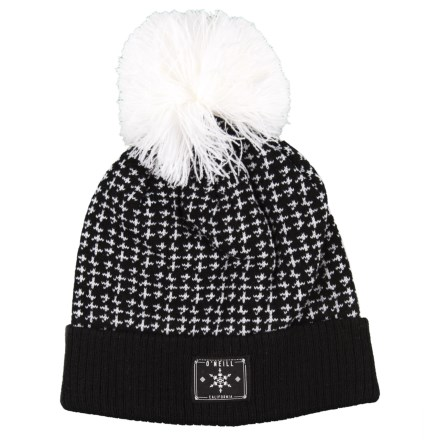 d309de1f9c O Neill Ziggy Blitz Beanie (For Girls) in Black Out - Closeouts