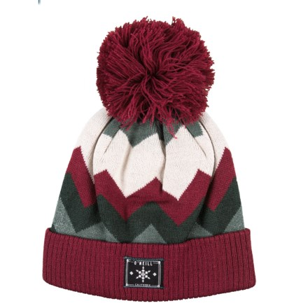 2a89b61bd50d7 O Neill Ziggy Blitz Beanie (For Girls) in Passion Red - Closeouts