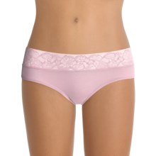 OnGossamer Cabana Cotton Breeze Panties - Hipsters (For Women) in Rose Pink - Closeouts
