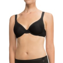 OnGossamer Mesh Contour Bra (For Women) in Black - Closeouts