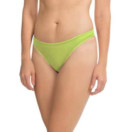 OnGossamer Mesh Hip-G Thong - Underwear (For Women) in Lyche - Closeouts