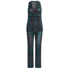 OnGossamer Triple-Twist Mesh Pajamas - Sleeveless (For Women) in City Lights - Closeouts