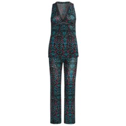 OnGossamer Triple-Twist Mesh Pajamas - Sleeveless (For Women) in City Lights