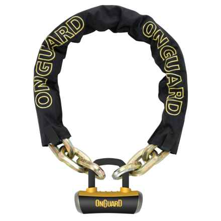OnGuard Beast Chain Lock - 6', Titanium Reinforced in See Photo - Closeouts