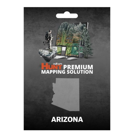 onX GPS Chip - Arizona in See Photo