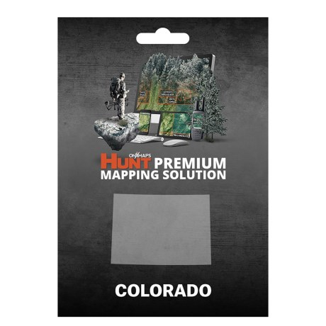 onX GPS Chip - Colorado in See Photo