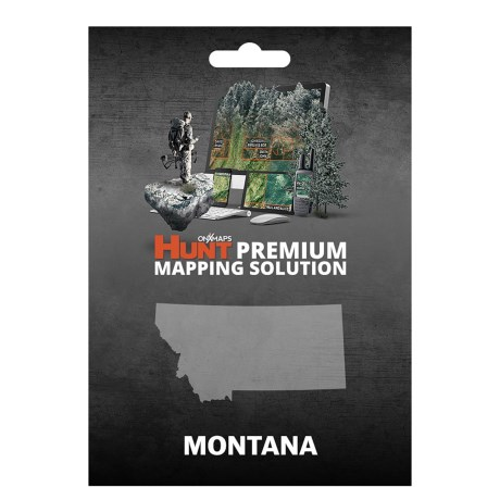 onX GPS Chip - Montana in See Photo