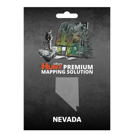 onX GPS Chip - Nevada in See Photo