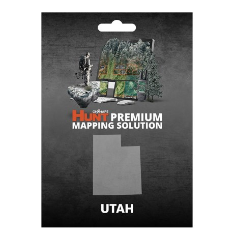 onX GPS Chip - Utah in See Photo