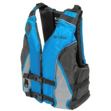 Onyx All-Adventure Shoal Type III PFD Life Jacket (For Men and Women) in Blue - Closeouts