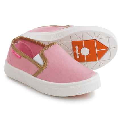 Oomphies Madison Shoes - Slip-Ons (For Little and Big Girls) in Pink - Closeouts