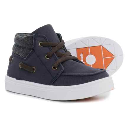 Oomphies Riley Sneakers (For Boys) in Navy - Closeouts