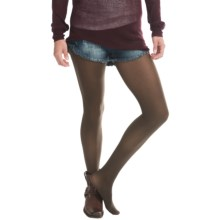 Opaque Tights (For Women) in Brown - 2nds