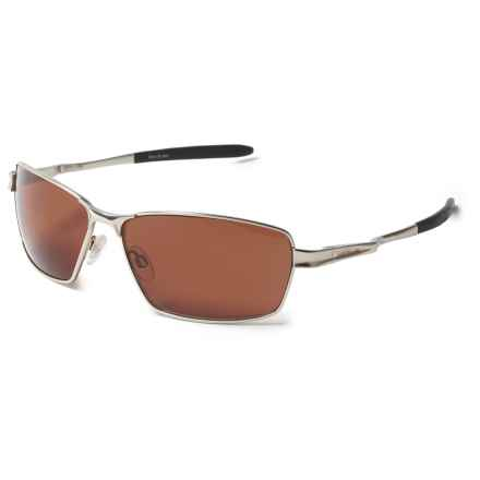Optic Nerve Axel Sunglasses - Polarized in Matte Gunmetal/Copper - Overstock