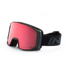 Optic Nerve Catamount Ski Goggles in Matte Black/Rose - Closeouts