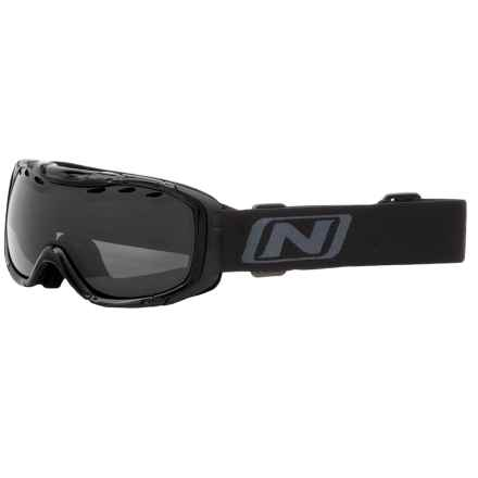 Optic Nerve Columbine Ski Goggles - Polarized in Black/Grey - Closeouts