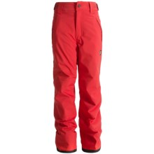 Orage Alex Reinforced Snow Pants - Waterproof, Insulated (For Little and Big Kids) in Fire Red - Closeouts