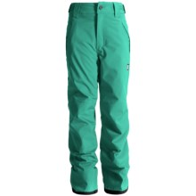 Orage Alex Reinforced Snow Pants - Waterproof, Insulated (For Little and Big Kids) in Glade - Closeouts