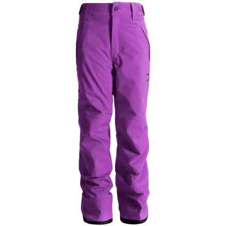 Orage Alex Reinforced Snow Pants - Waterproof, Insulated (For Little and Big Kids) in Violet - Closeouts