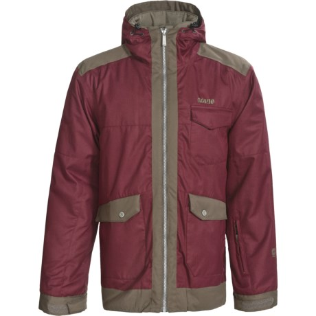 Orage Baxter Ski Jacket - 3-in-1 (For Men) in Heather Burgundy