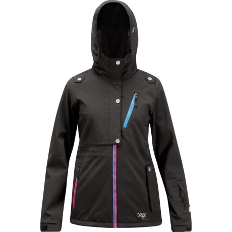 Orage Bayfield Soft Shell Ski Jacket - Insulated (For Women) in Black
