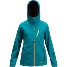 Orage Bayfield Soft Shell Ski Jacket - Insulated (For Women) in Lagoon - Closeouts