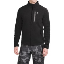 Orage Ben Fleece Jacket (For Men) in Black - Closeouts