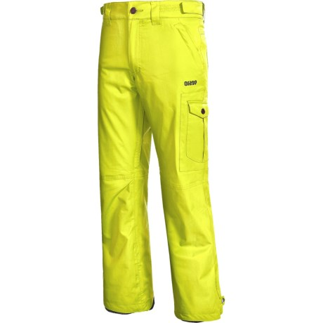 Orage Benji Snow Pants - Waterproof, Insulated (For Men) in Sulphur