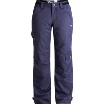 Orage Biloxi Ski Pants - Insulated (For Women) in Heather Deep Indigo